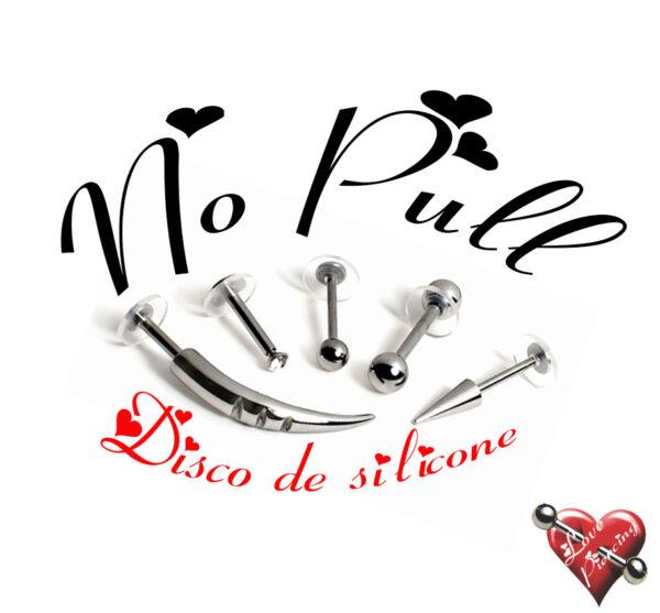 no pull - Disco de silicone
